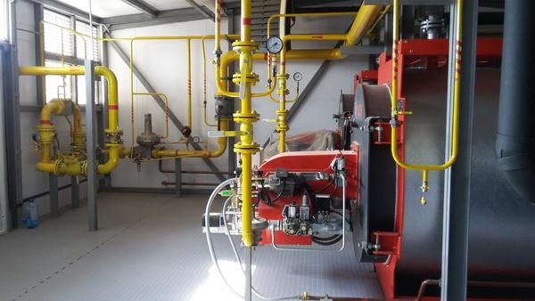Блочно-модульная котельная на дизельном топливе