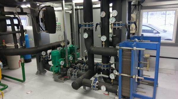 Монтаж системы безопасности отопления