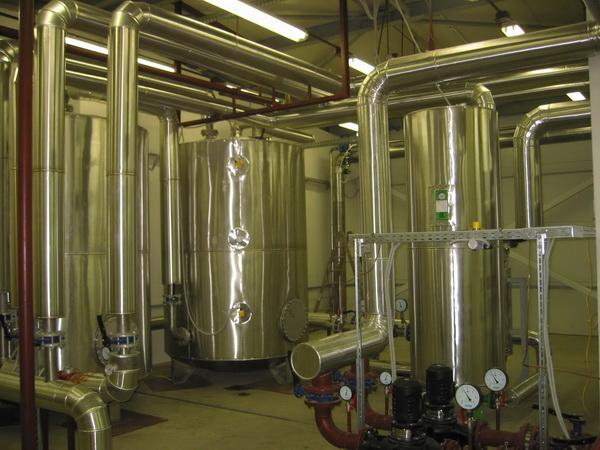 Монтаж системы отопления металлическими трубами