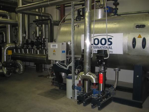 Монтаж системы воздушного отопления