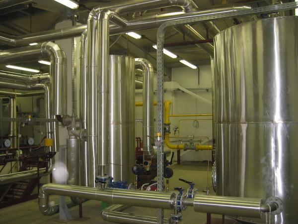 Монтаж трубопровода систем отопления