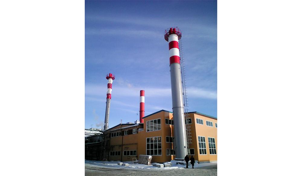 Проектирование промышленных дымовых труб