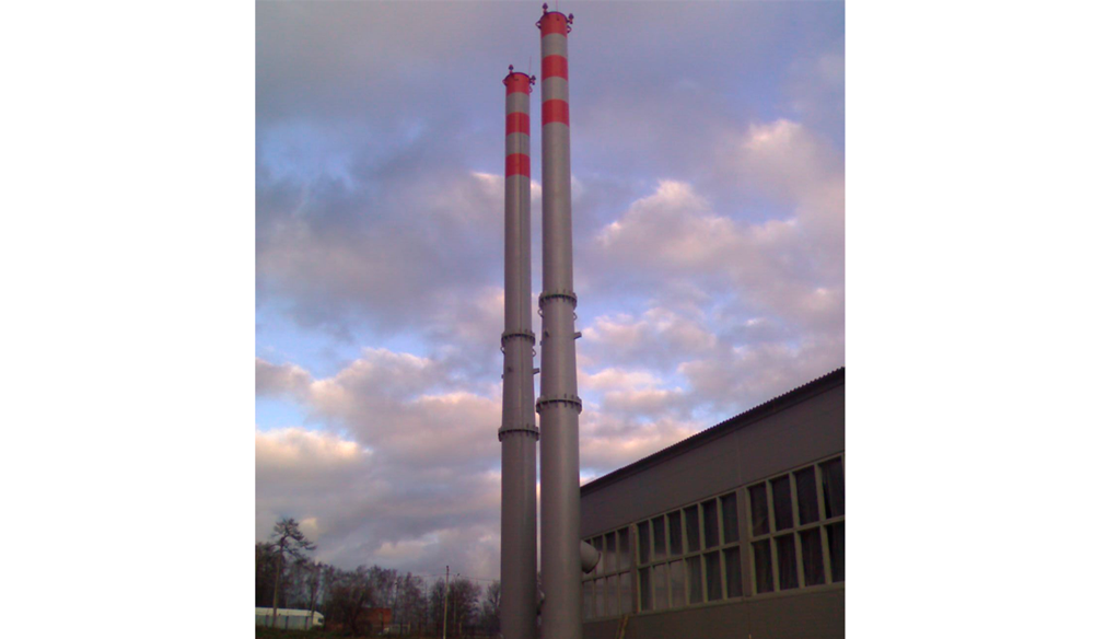Проектирование дымовых труб котельных